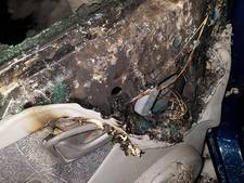 Kortsluiting oorzaak van autobrand in Borculo