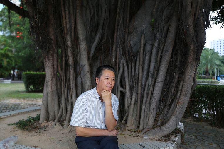 Woede houdt Chen Keyun overeind. Beeld Zhang Yujie