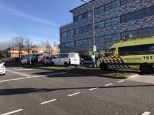 Kettingbotsing tussen vier auto's in Gouda