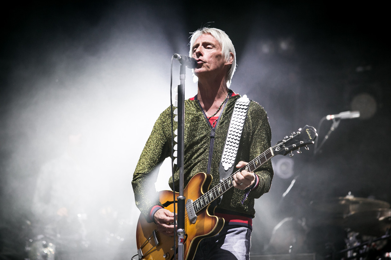 Paul Weller: 'Ik ben vooral dankbaar dat ik er nog ben. Veel mensen schoppen het niet zo ver.'  Beeld Redferns