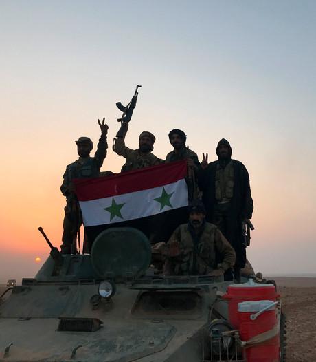 'Syrische leger verslaat slapende IS-cellen in grensplaats Albu Kamal'
