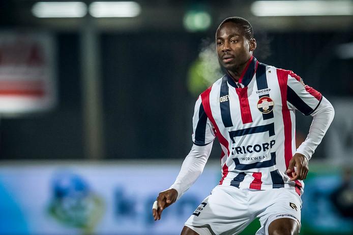 Eyong Enoh ontbreekt opnieuw in de wedstrijdselectie van Willem II.