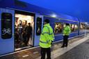 Cuijk: 29-11-2018, DG_FotoArriva heeft problemen op de Maaslijn. Het treinverkeer heeft op dit traject regelmatig last van storing. Vooral in de spits.Foto: ed van Alem