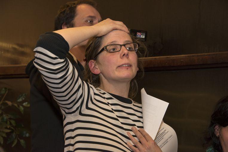 Buurtbewoonster Julie Gerbaud is tegen de plannen van Ampe.