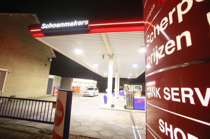 Overval op tankstation Schoenmakers in Helmond