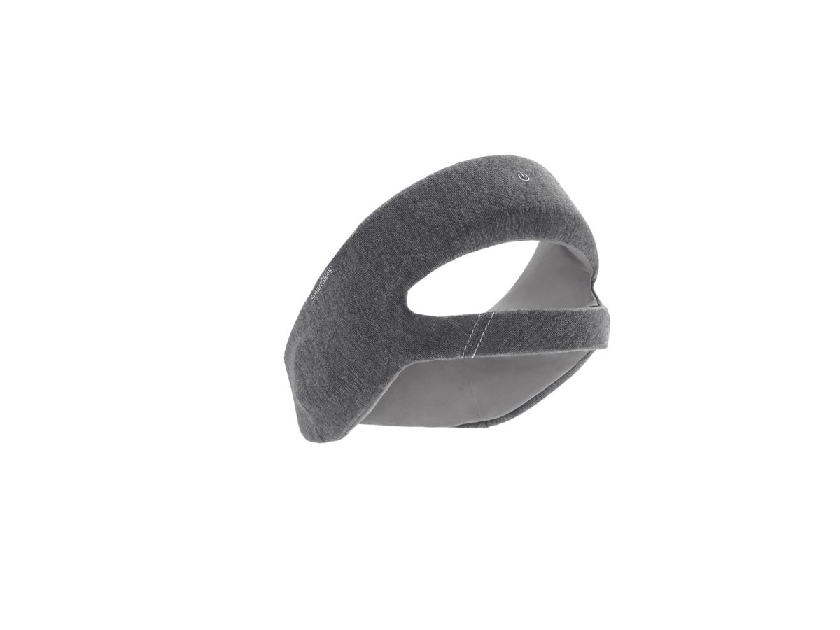 De elektronica van de Smartsleep van Philips zit in een speciale hoofdband van zacht stof.