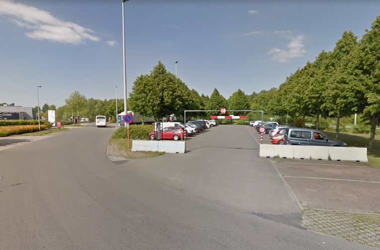 De man kon zijn wagen tijdig op de parking aan het Vlamingveld parkeren.
