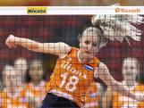 Nederlandse volleybalsters verliezen in halve finale WK
