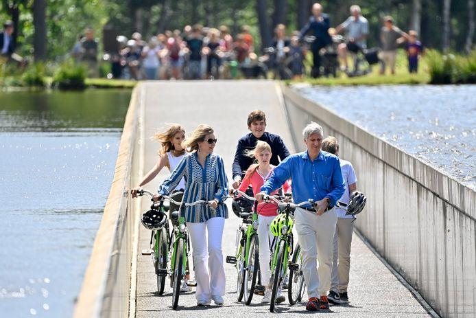 Ook de koninklijke familie vond deze zomer al de weg naar Bokrijk.