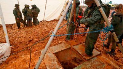 Israëlische leger start met vernietiging Hezbollah-tunnels