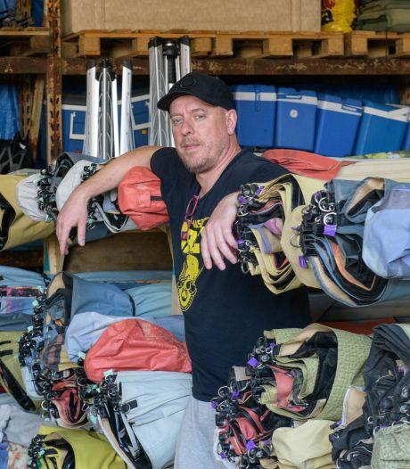 Festipi in Hengelo ziet 'tent' in elkaar zakken: 'Ik weet niet of we dit tot een goed einde brengen'