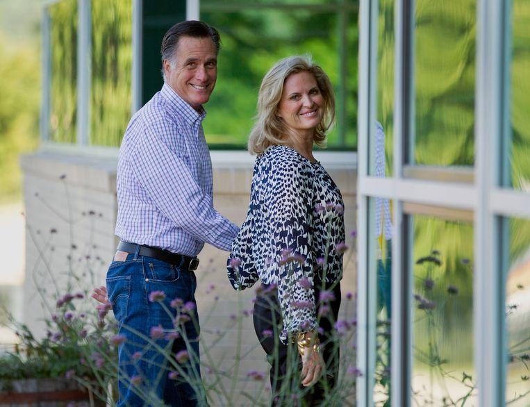 1dac8db4ff49d1 Romney bereidde zich er voor op de Republikeinse conventie die deze week  wordt gehouden in Tampa