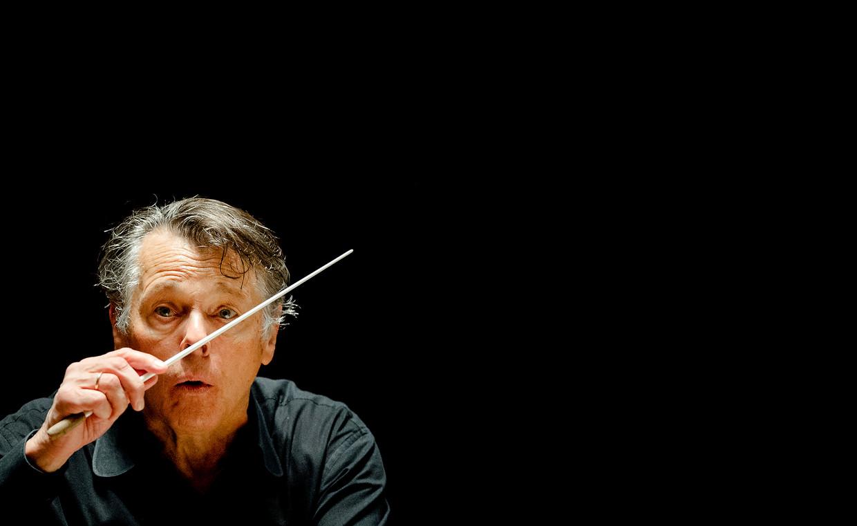 Dirigent Mariss Jansons dirigeert het Concertgebouworkest, waarvan hij in 2015 afscheid nam.