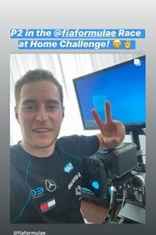 """Vandoorne 5e de la deuxième manche du """"Race at Home Challenge"""""""