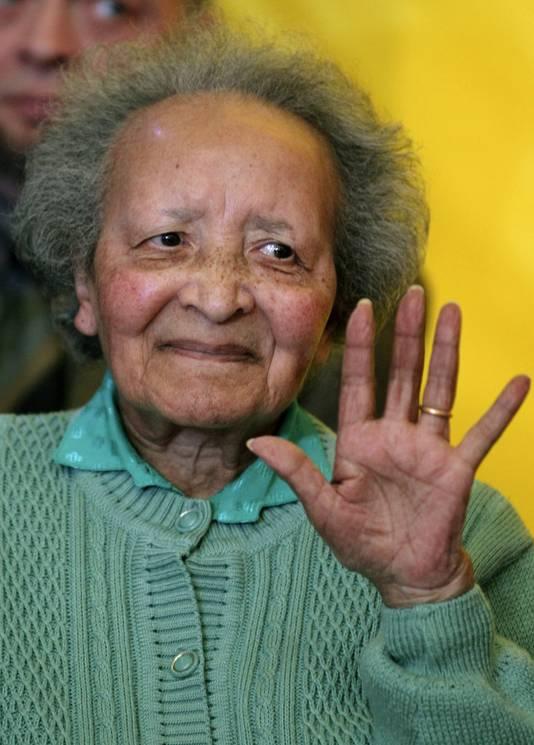 Augusta Chiwy overleed zondag op 94-jarige leeftijd.