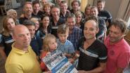 J-team schenkt 1000 euro aan Levensloop