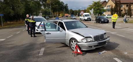 Gewonde bij botsing tussen twee auto's op Kottenseweg in Winterswijk