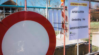Kinrooise sluipwegen richting Nederlandse grens afgesloten met nadarhekken