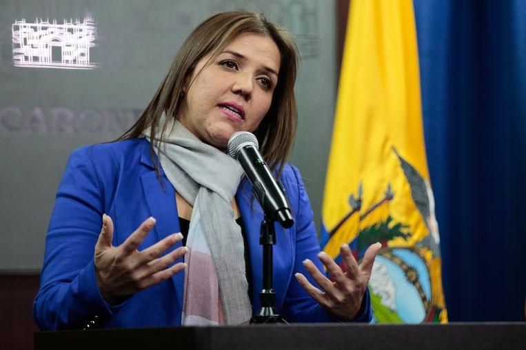Maria Alejandra Vicuna vervangt Jorge Glas.