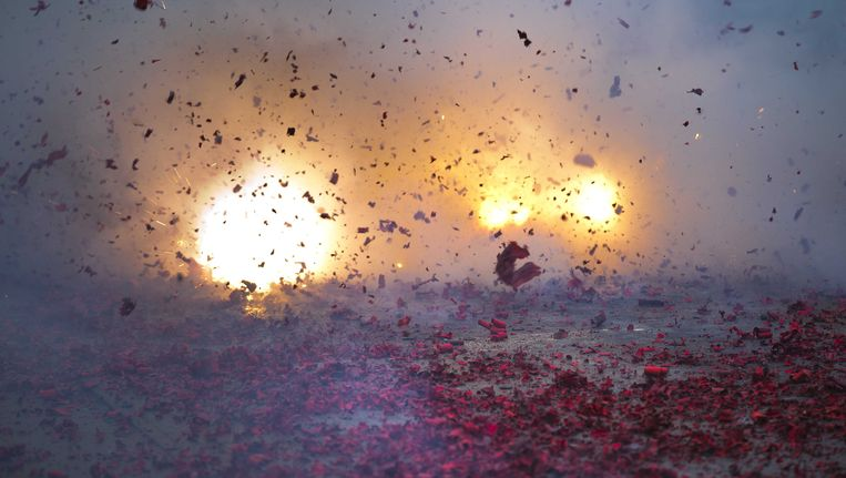 Vuurwerk. Beeld ANP