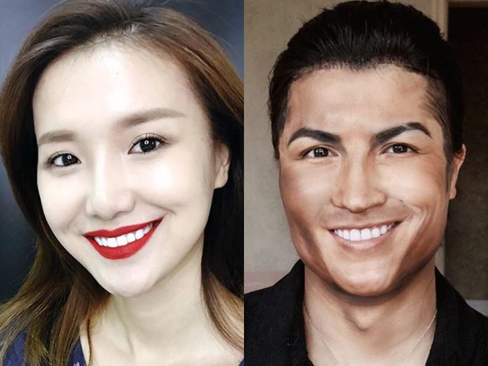 He Yuhong kroop in de huid van Ronaldo