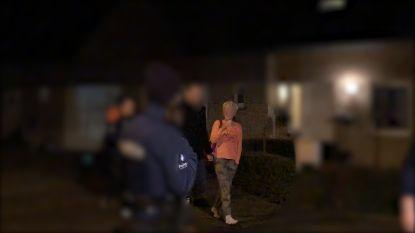 VIDEO. Het moment waarop Myriam P. wordt opgepakt voor brandstichting bij buren