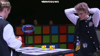Snelste vingers ter wereld verzamelen voor het WK Rubik's Cube