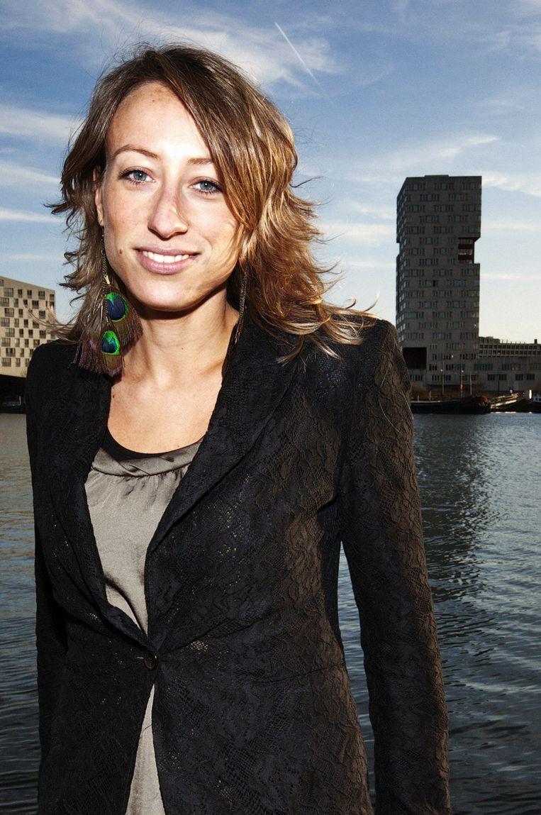 Carolina Lo Galbo, nieuwe aanwinst van De Volkskrant. Beeld Guy Offerman