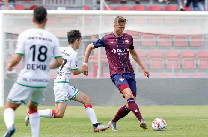Thomas Meissner aan de bal.