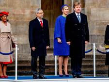 Koning verwelkomt presidentspaar Kaapverdië