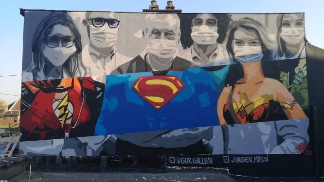Graffitikunst Massi genomineerd voor de Best of Street Art Belgium 2020