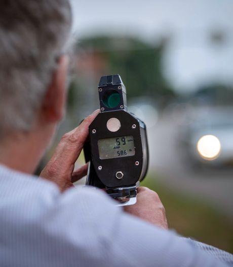 Boetes voor snelheidsovertredingen bij wegwerkzaamheden Aalten