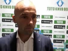 NAC-trainer Van der Gaag voelt zich verantwoordelijk: 'Het gaat niet goed'