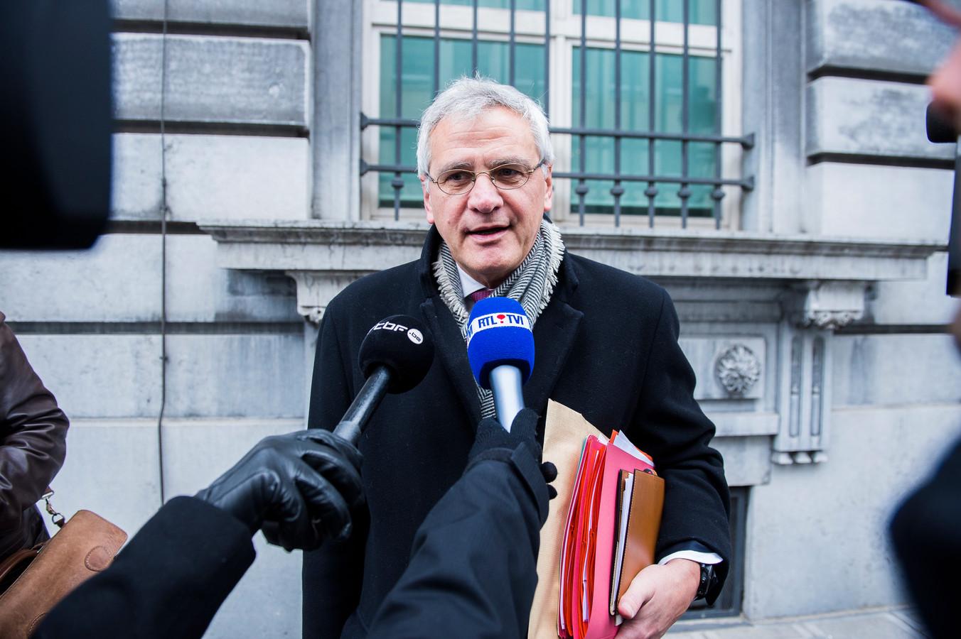 Kris Peeters, ministre de l'Emploi et de l'Economie