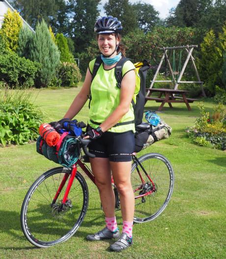 Lydia Timmermans uit Arnhem is Nederlands kampioen fietskoerier