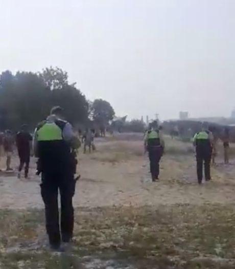 Une bagarre sur une plage d'Anvers, la police intervient en nombre