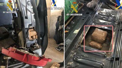 Belg (35) verbergt 89 kilo hasj in Citroën Berlingo, maar wordt betrapt aan Spaanse grens