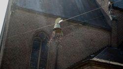 Bijna honderd kinderen op dertigste editie paaseierenworp Sint-Mauruskerk