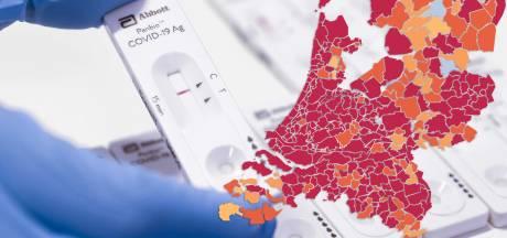 CORONAKAART | Tweede golf lijkt wat af te zwakken in regio, bekijk hier het aantal besmettingen in jouw gemeente