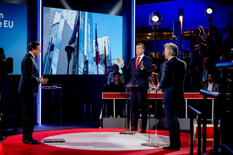 Pechtold en Roemer in debat. Beeld ANP