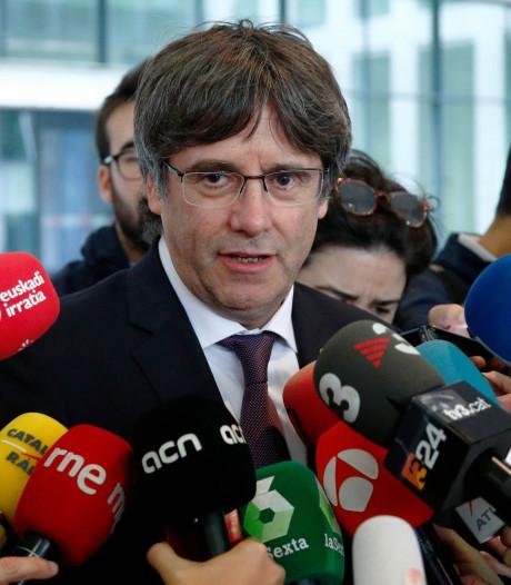 Carles Puigdemont remis en liberté sous conditions