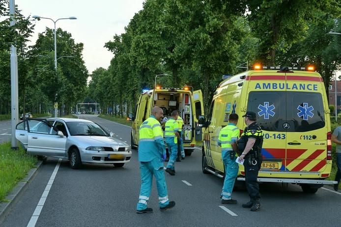 Twee ambulances ter plekke.