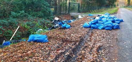 Gigantische hoeveelheid hennepafval gedumpt in Enschede