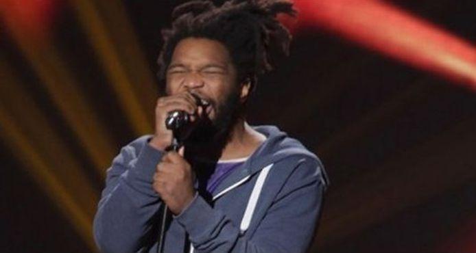 """Pascal Oyong-Oly avait particpié à """"The Voice"""" sous le nom de scène de Spleen."""