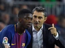 Valverde leeft mee met Dembélé
