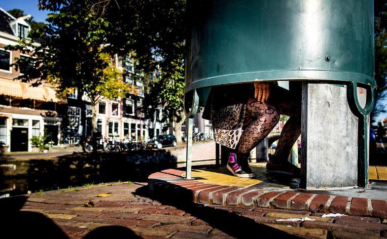 Paroollezer Marga van Beek pleit voor een plaskrul voor vrouwen. Beeld ANP