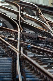 Prorail worstelt met de gevolgen van de droogte: het spoor verzakt