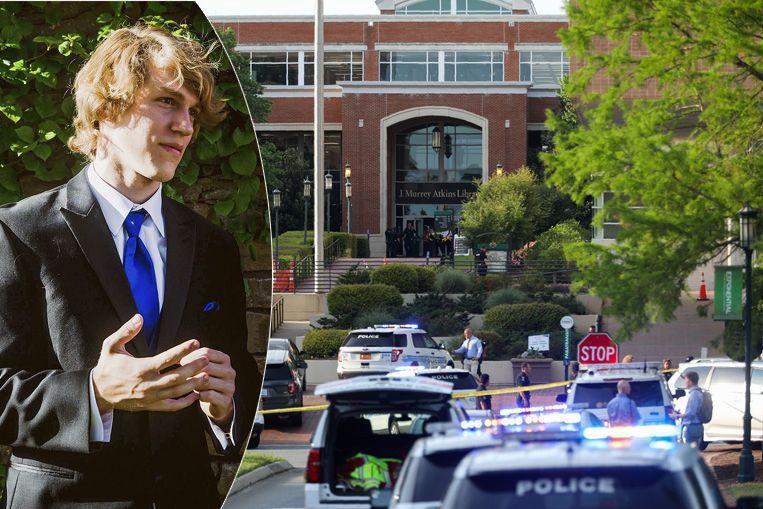 Riley Howell (21) is een van de slachtoffers. Volgens de politie slaagde hij erin om de dader op de grond te duwen.