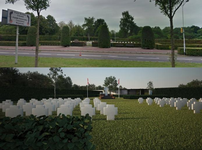 Impressie Generaal Maczek Memorial. Bron: Comité Fondsenwerving Generaal Maczek Memorial  2