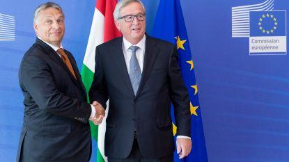 Juncker wil Hongaarse premier Orban niet meer in Europese Volkspartij